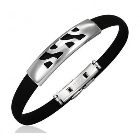 Bracelet homme acier ZB0004