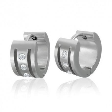 Boucles d'oreilles homme ZE0022