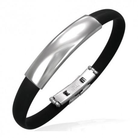 Bracelet homme acier ZB0009