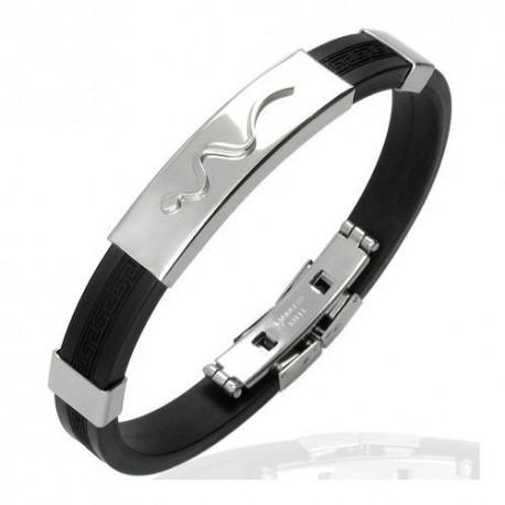 Bracelet homme acier ZB0011