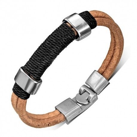 Bracelet homme cuir ZB0169