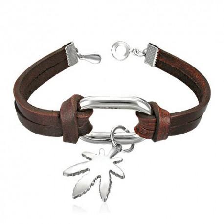 bracelet cuir homme ZB0173