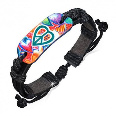 bracelet cuir homme ZB0177
