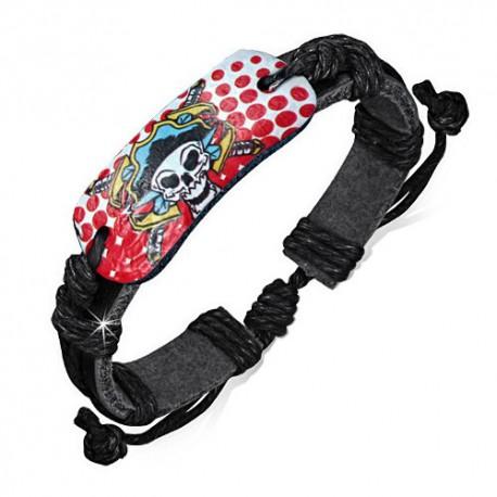 bracelet cuir homme ZB0179