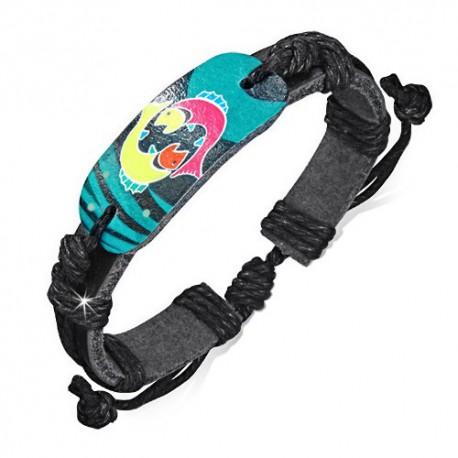 bracelet cuir homme ZB0182