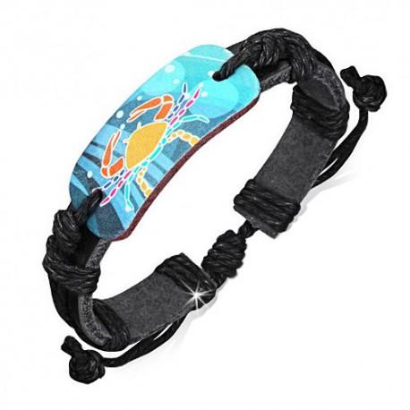 bracelet cuir homme ZB0184