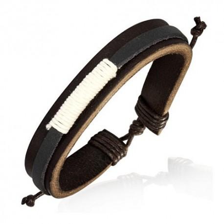 Bracelet homme cuir ZB0197