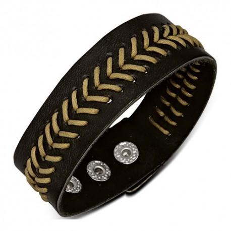 Bracelet homme cuir ZB0198