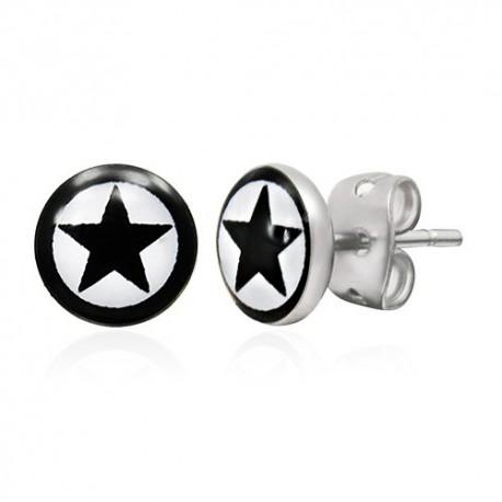 Boucles d'oreilles homme ZE0044
