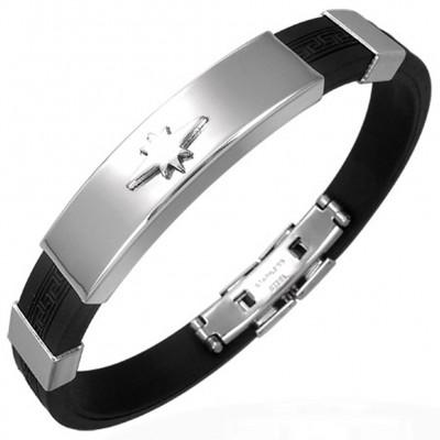 Bracelet homme acier ZB0210