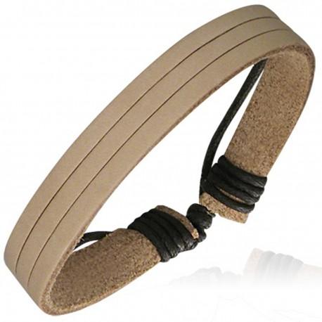 Bracelet homme cuir ZB0217