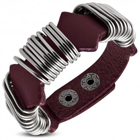 Bracelet homme cuir ZB0225