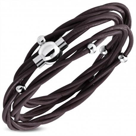 Bracelet homme cuir ZB0227