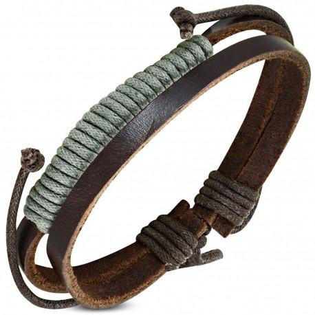 Bracelet homme cuir ZB0228