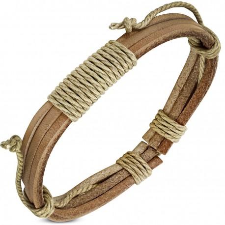 Bracelet homme cuir ZB0229