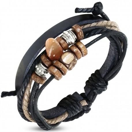 Bracelet homme cuir ZB0232