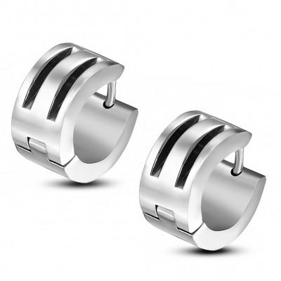 Boucles d'oreilles homme ZE0055