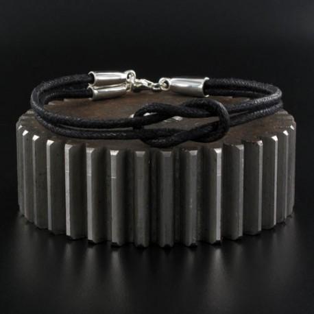 Bracelet homme argent Nodus
