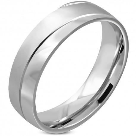 Bague anneau en acier ZR0117