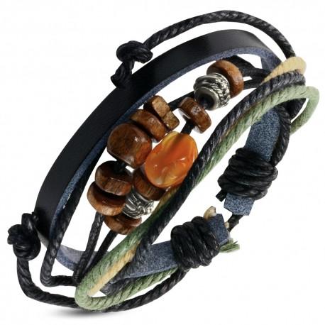 Bracelet homme cuir ZB0238