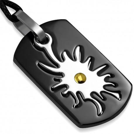 Pendentif pour homme en acier Zense ZP0188