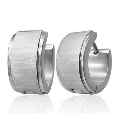 boucles-oreilles-homme-acier-brillant-brosse-large-ze0011
