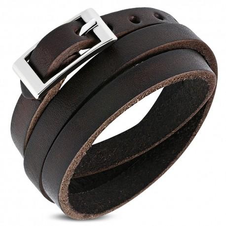 Bracelet homme cuir ZB0274