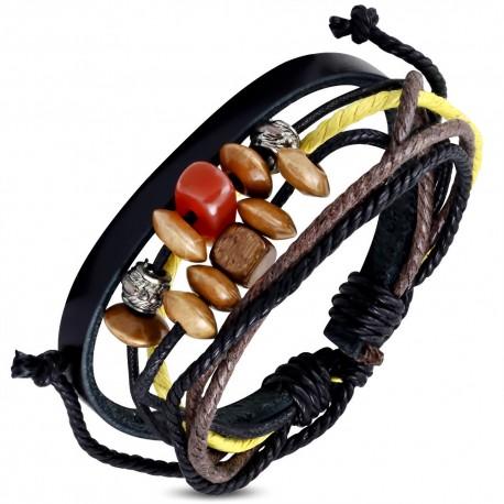 Bracelet cuir homme ZB0079