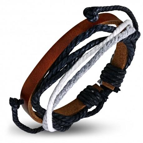 Bracelet cuir homme ZB0087