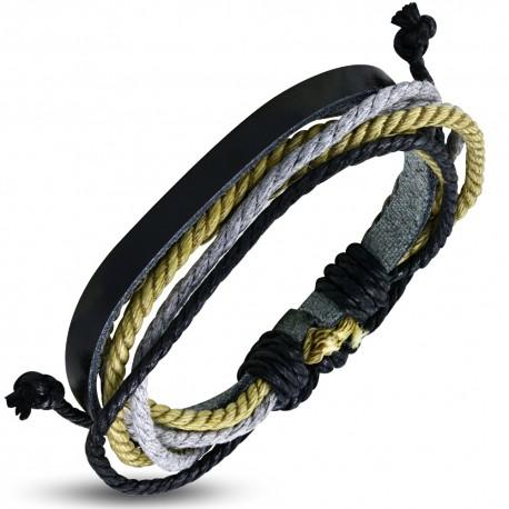 Bracelet cuir homme ZB0103