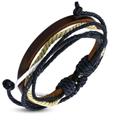 Bracelet cuir homme ZB0090
