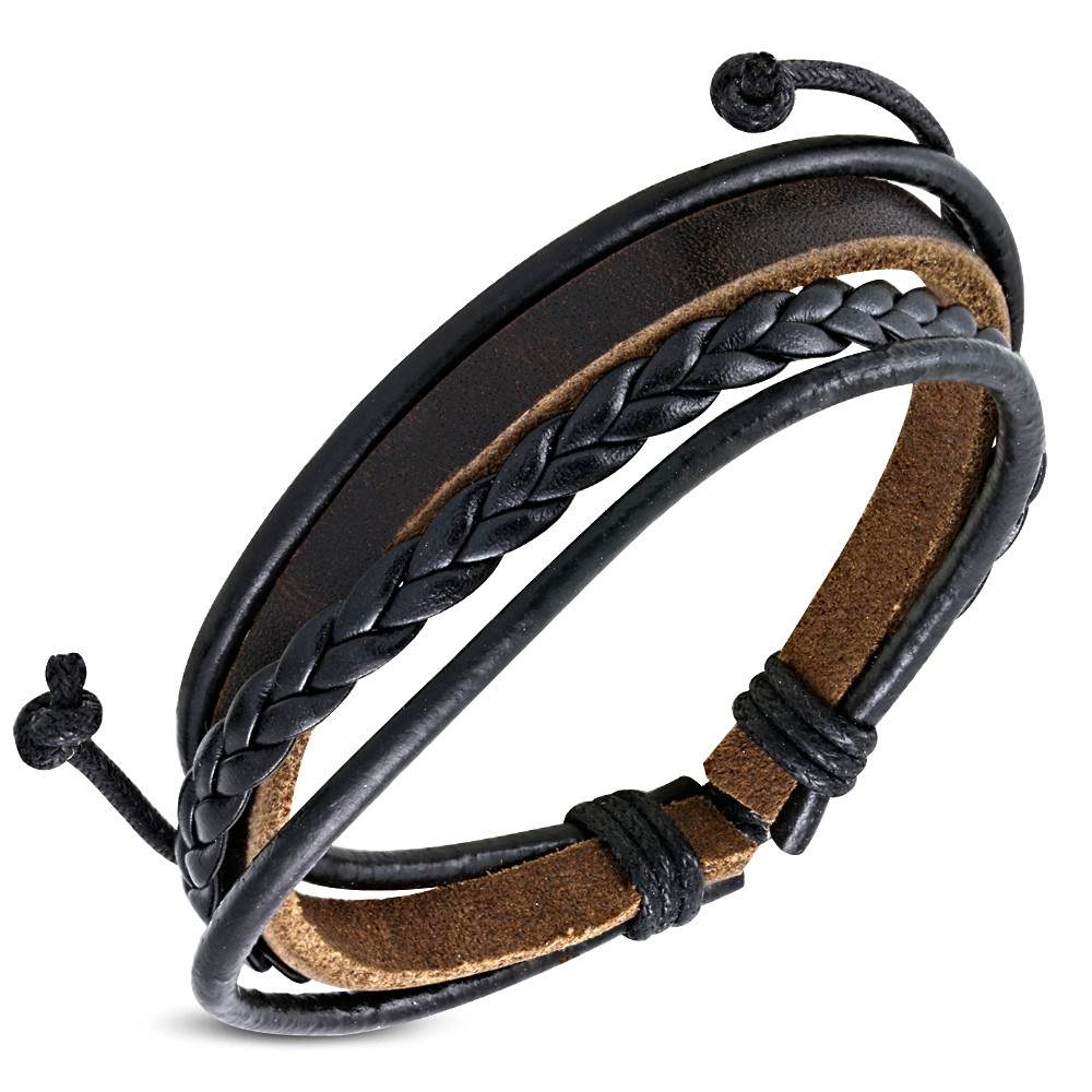 bracelet en cuir de marque pour homme bijoux de la saison 2018. Black Bedroom Furniture Sets. Home Design Ideas