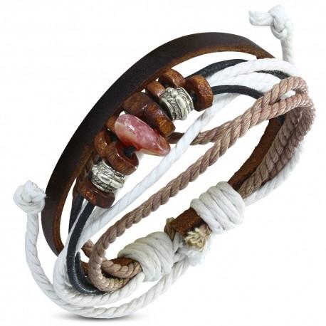 Bracelet cuir homme ZB0292