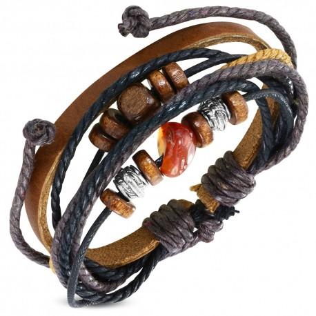 Bracelet cuir homme ZB0294
