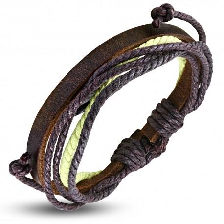 Bracelet cuir homme ZB0296