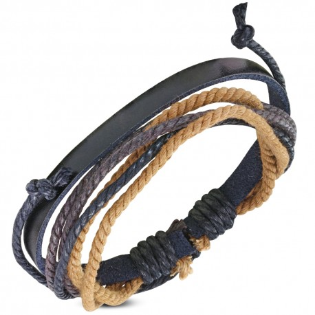 Bracelet cuir homme ZB0297