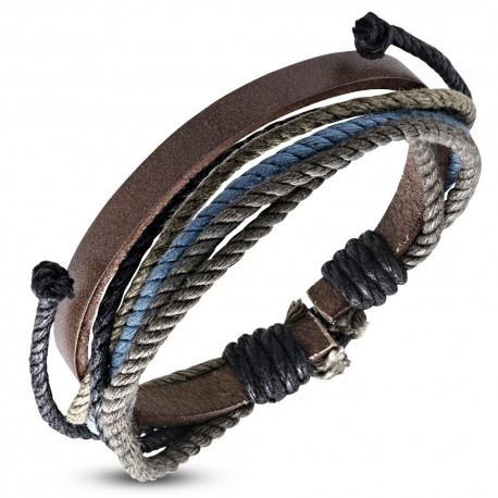 Bracelet cuir homme ZB0298