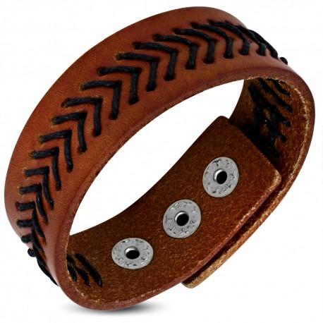 Bracelet cuir homme ZB0300