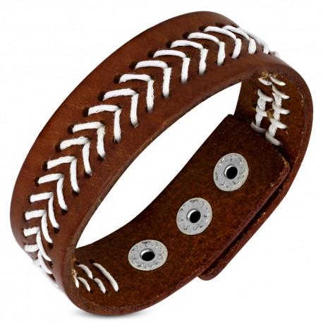 Bracelet cuir homme ZB0301