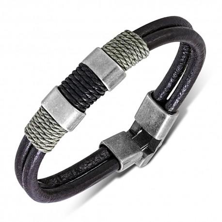 Bracelet cuir homme ZB0302