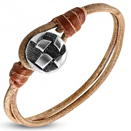 Bracelet cuir homme ZB0303