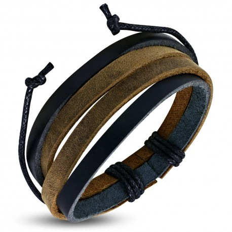 Bracelet cuir homme ZB0304
