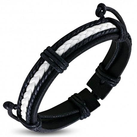 Bracelet cuir homme ZB0305