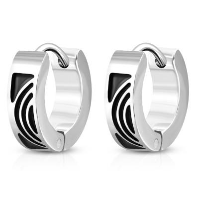 Boucles d'oreilles homme ZE0063