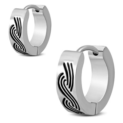 Boucles d'oreilles homme ZE0065