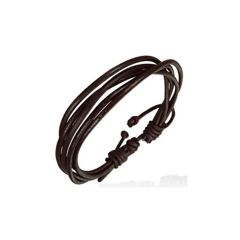 bracelet cuir homme simple