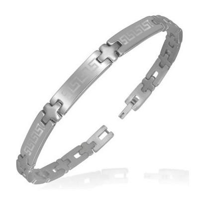 Bracelet homme acier ZB0014
