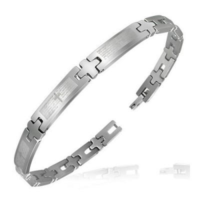Bracelet homme acier ZB0015