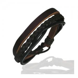Bracelet Zense en cuir ZB0107 pour homme