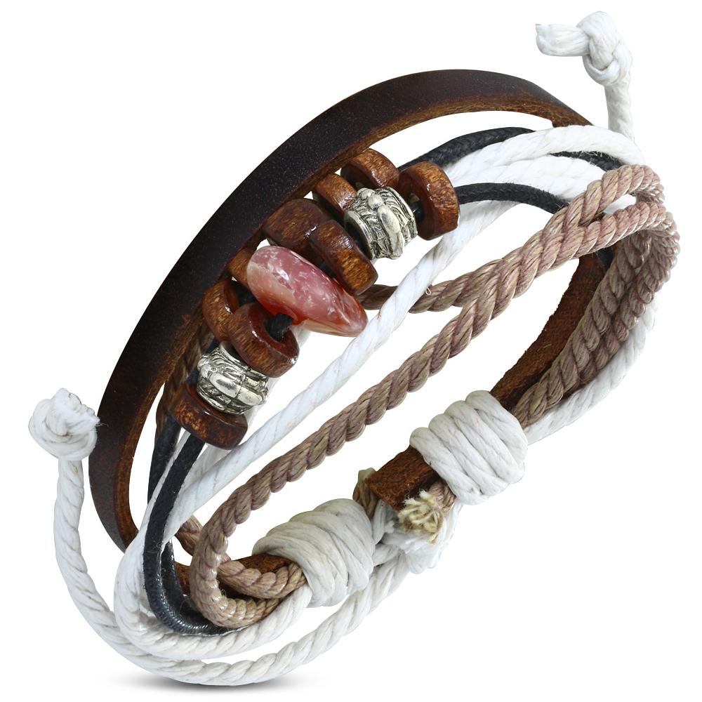 bracelet cuir homme reglable
